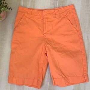 Lilly Pulitzer Resort Fit Orange Shorts Size 0
